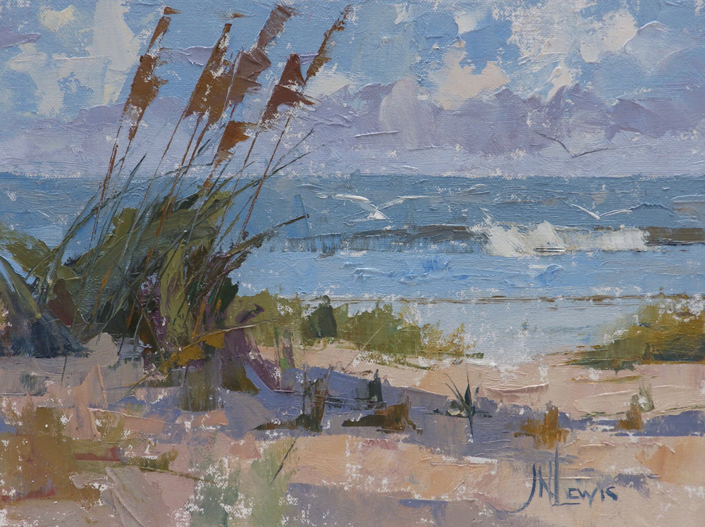 sea oats and surf 9x12.jpg