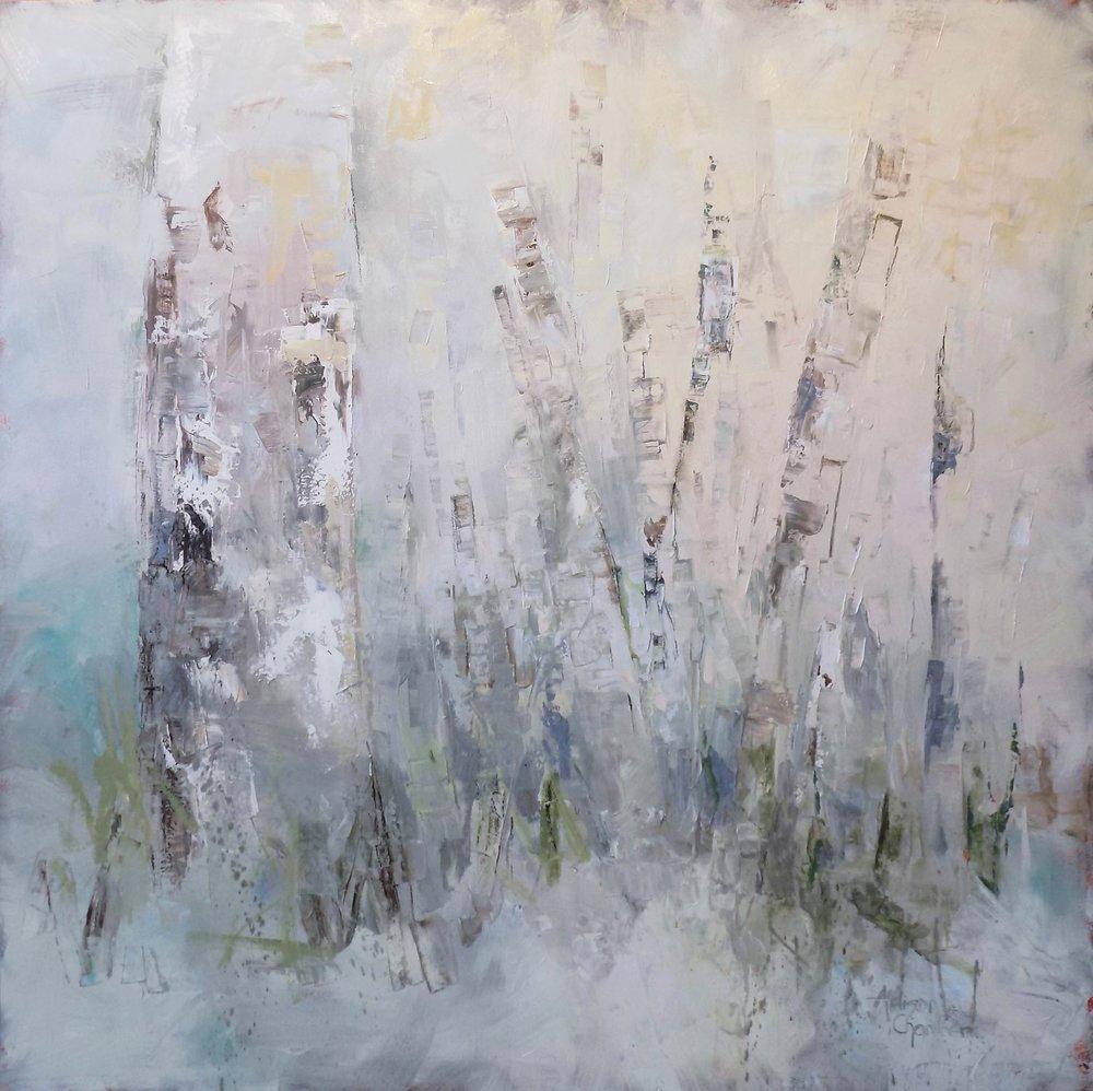 """""""Dawn""""  Oil on Canvas  48"""" x 48"""""""