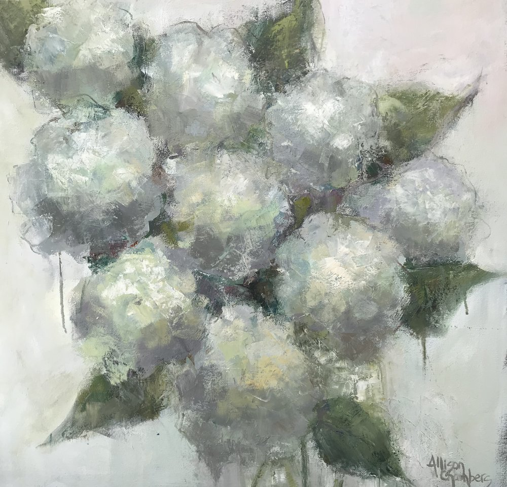 """Whisper""  Oil on Canvas  24"" x 24"""