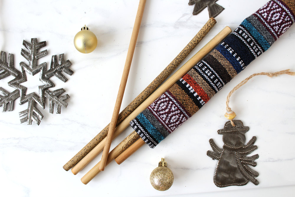 This is the gift that keeps on giving. These reusable straws are both practical  and  good for the environment. Get this ultimate eco-friendly gift from  Under One Sun  (Peterborough).