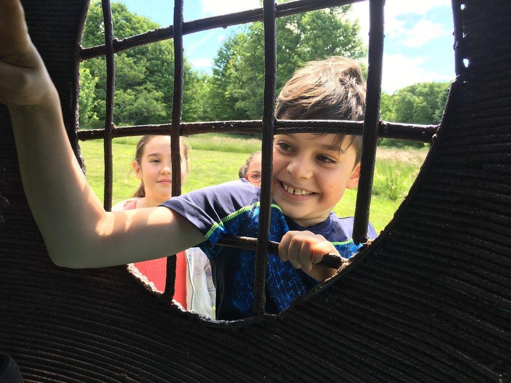 A field trip to Griffiths Sculpture Park
