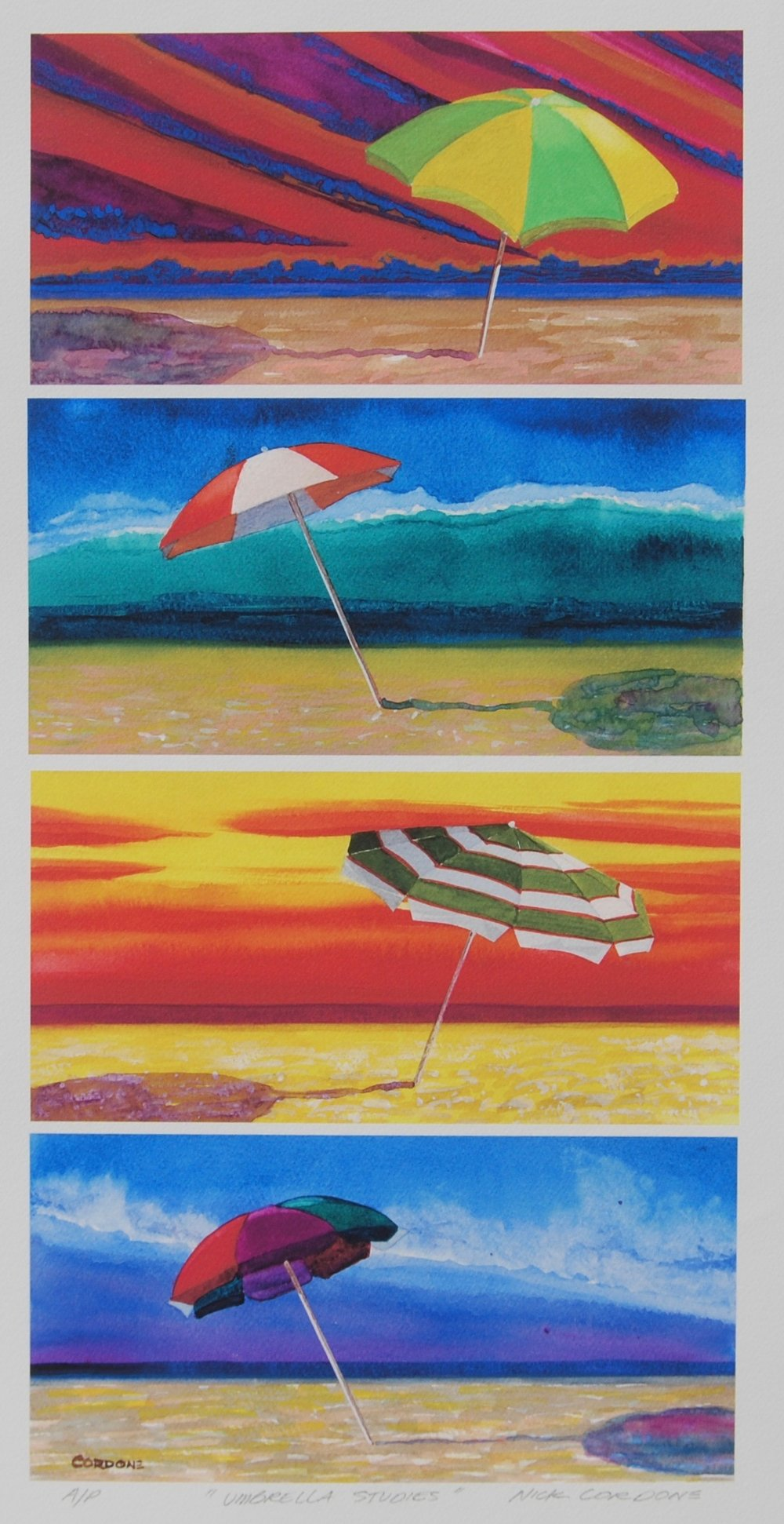 Umbrella Studies #2 - 12
