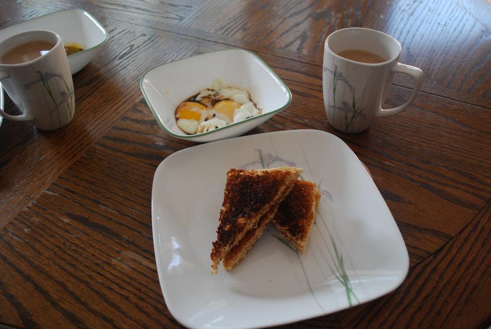 Kaya Toast and Soft Boiled Eggs
