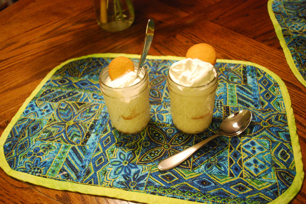 Banana Cream Pie in a Jar!