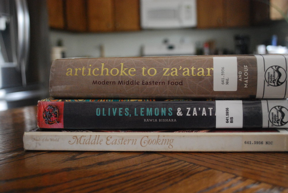Middle Eastern Cooking Library Books