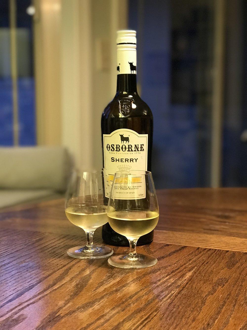 sherry aperitif