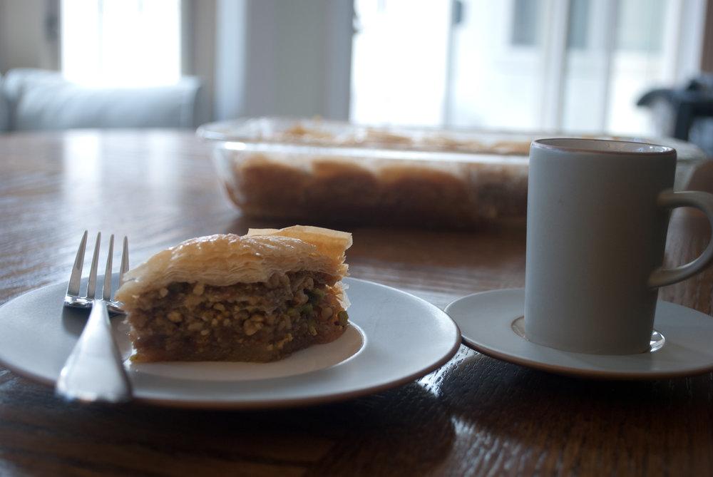 Baklava slice