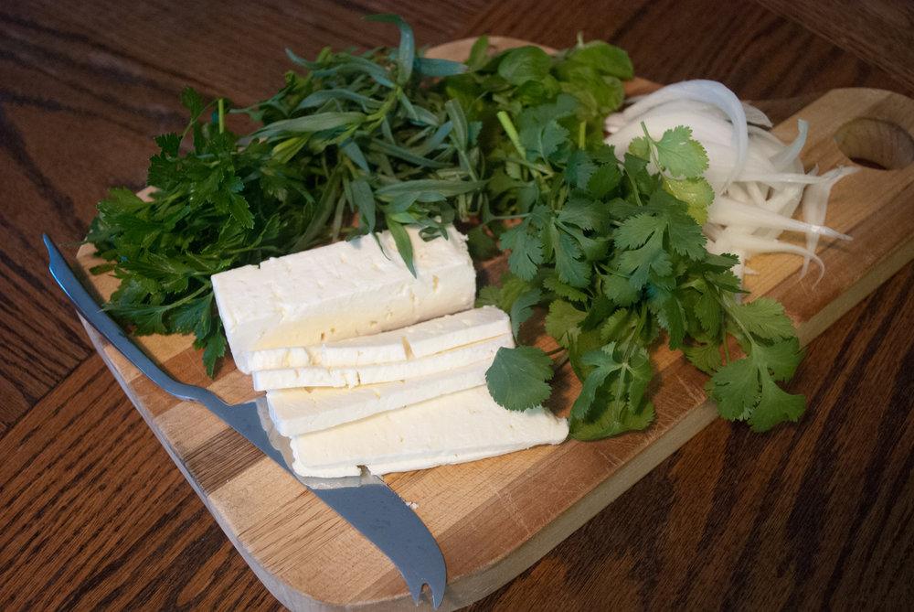 Feta and Herbs