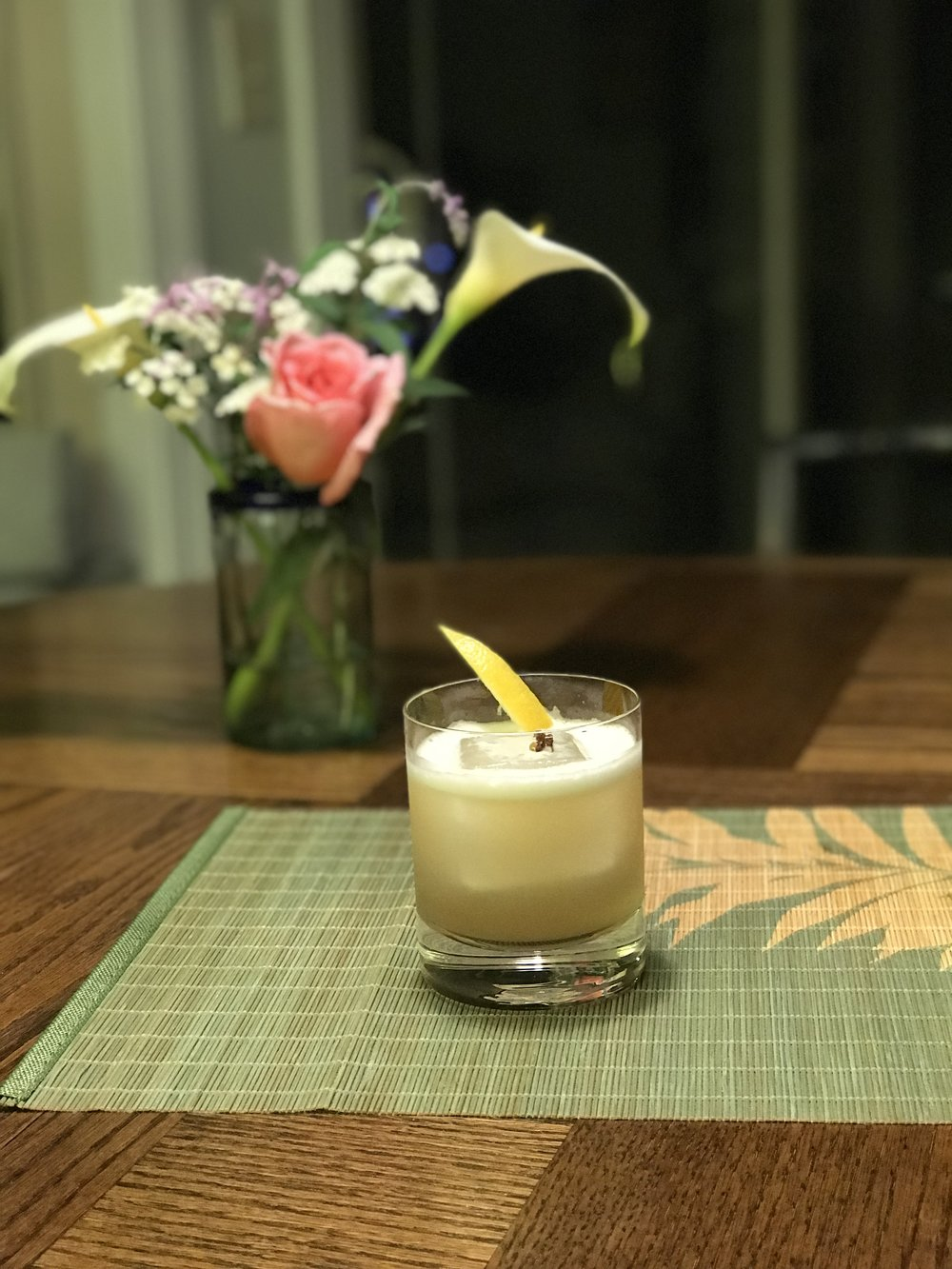 Sichuan Peppercorn Whiskey Sour