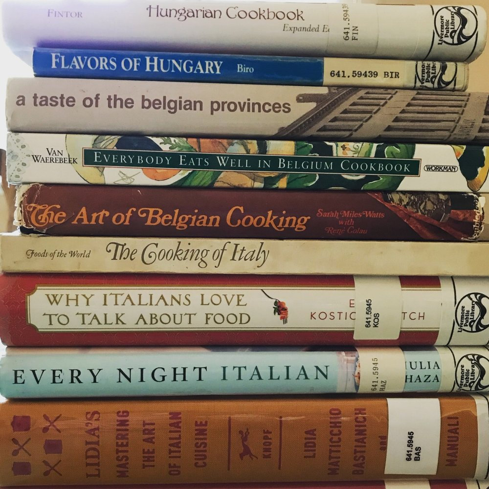 Library Cookbooks