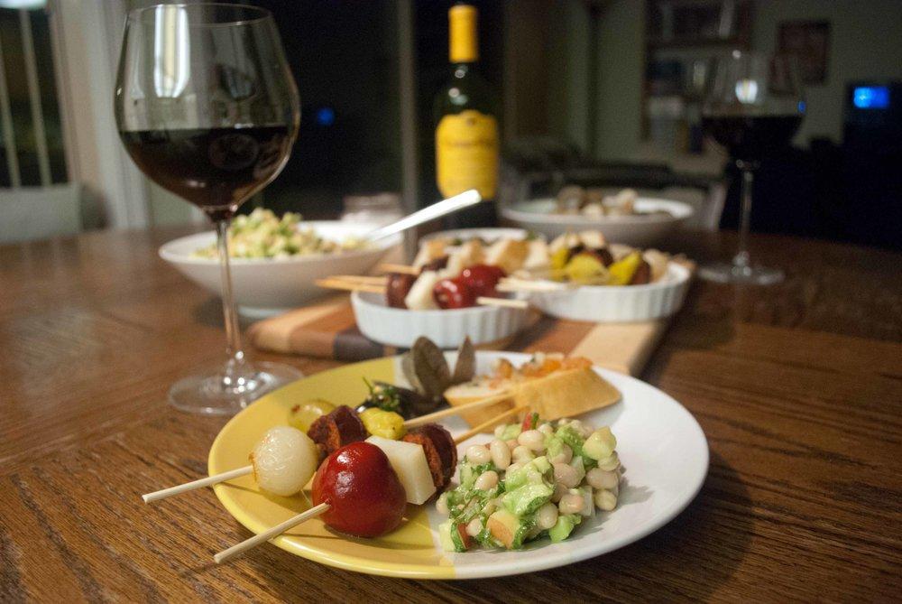 Tapas y Rioja
