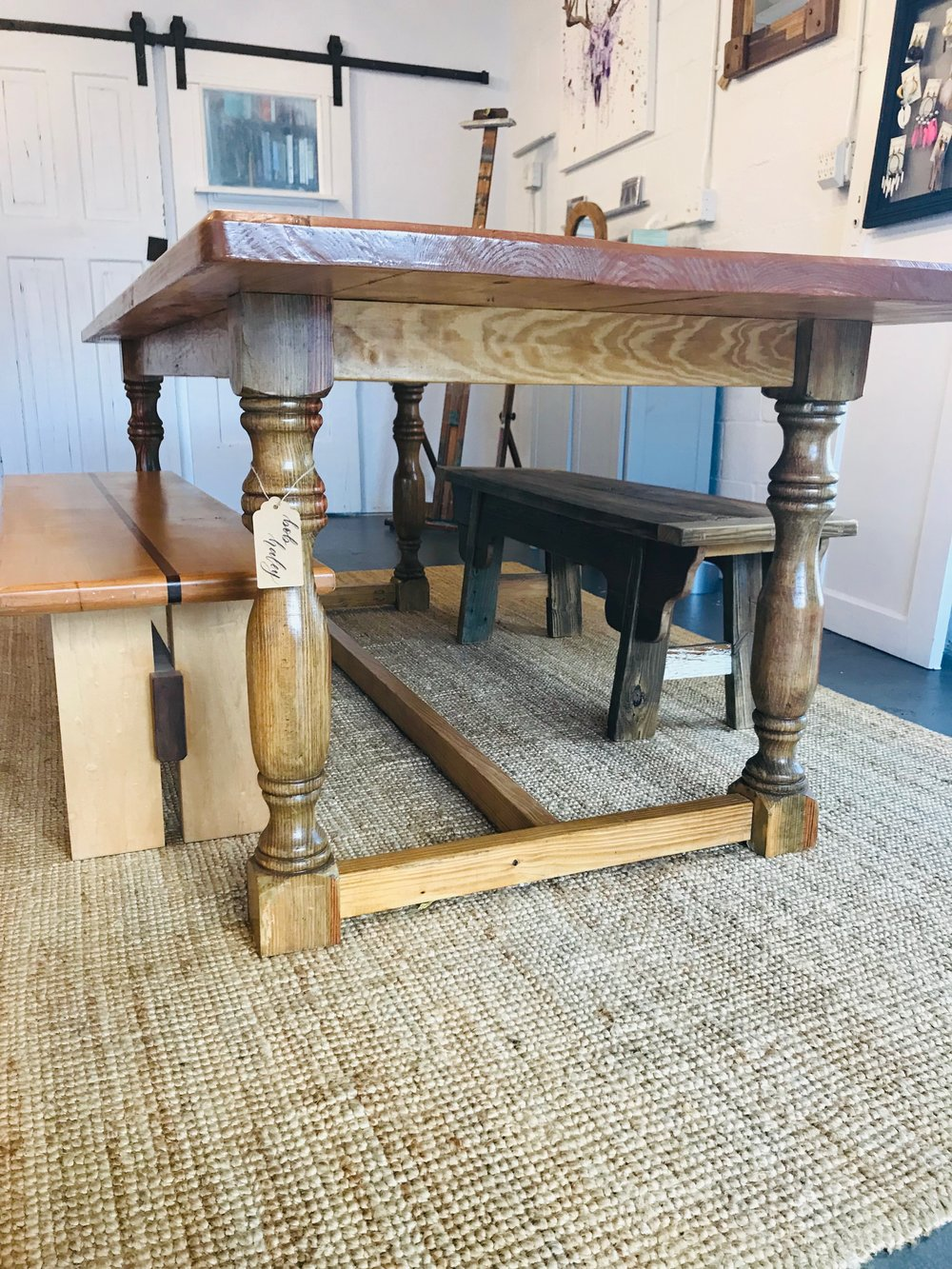 Bob Haley - Tables with hand-turned legs