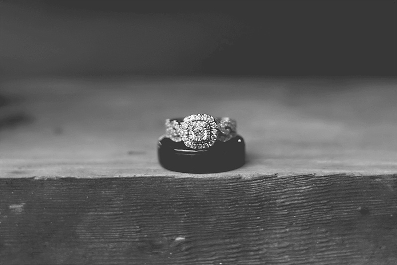 vintage halo wedding ring