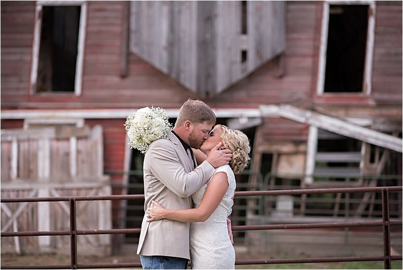 old barn at country wedding