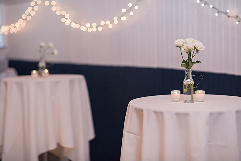 fall wedding reception decor
