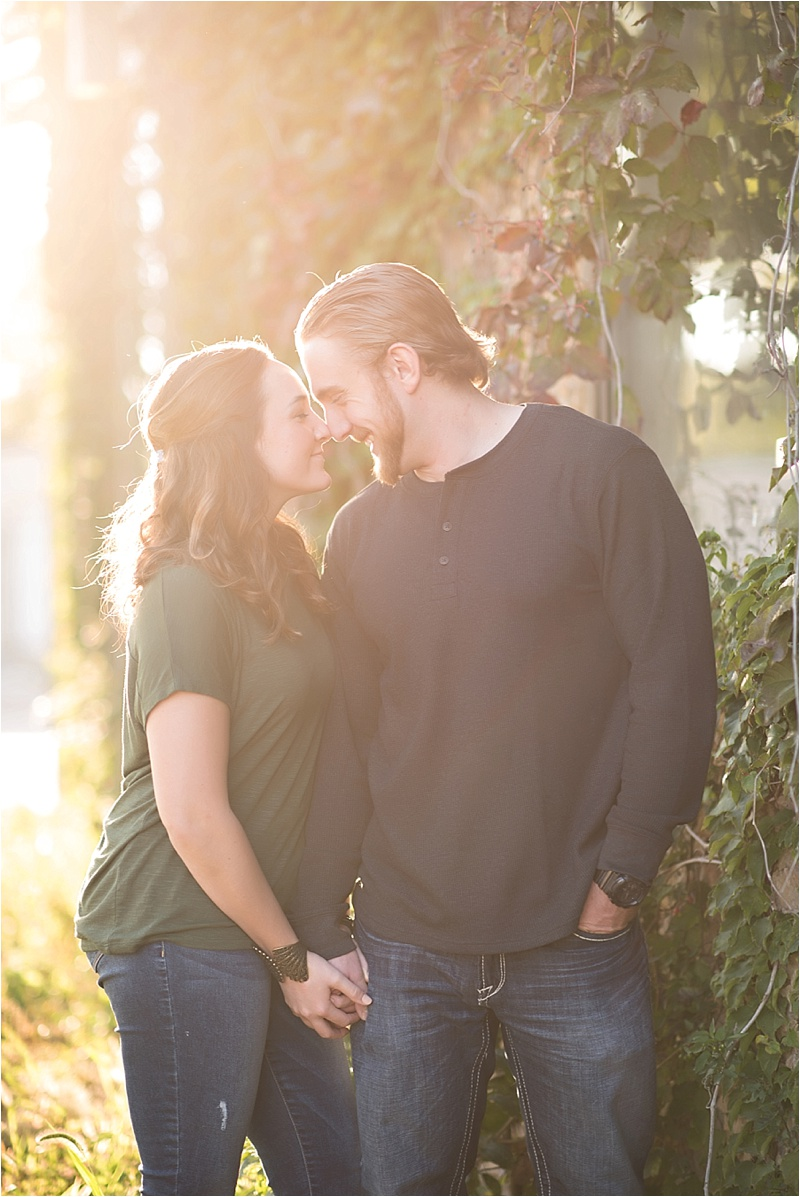 Fall engagement photography session