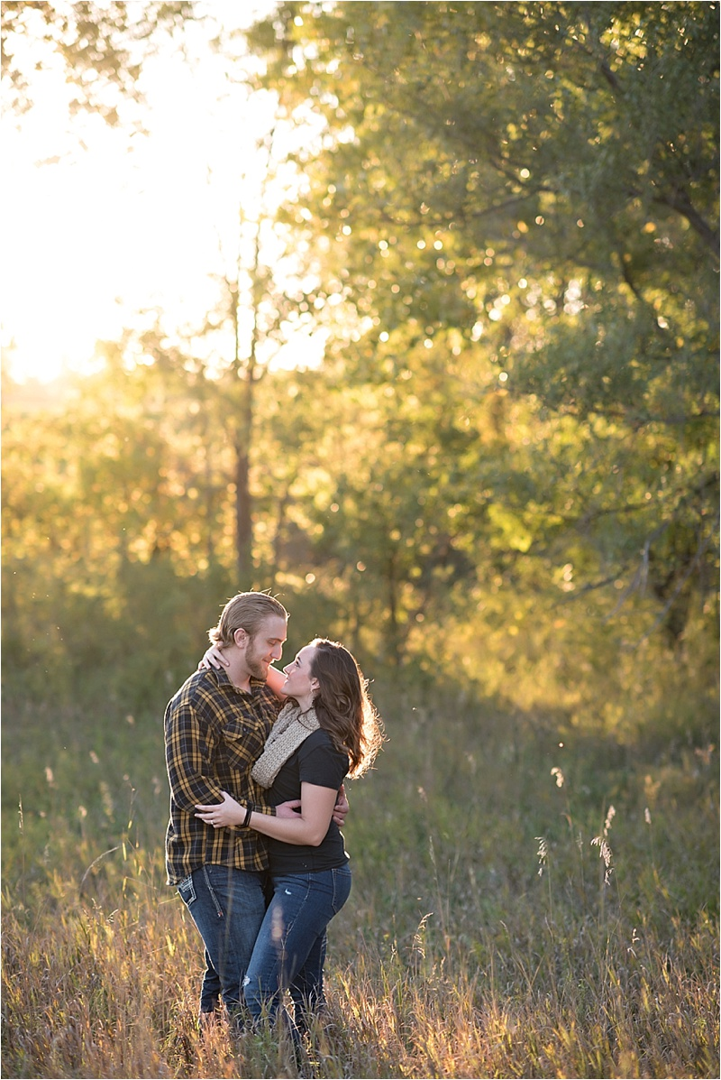 Couple's fall engagement photography