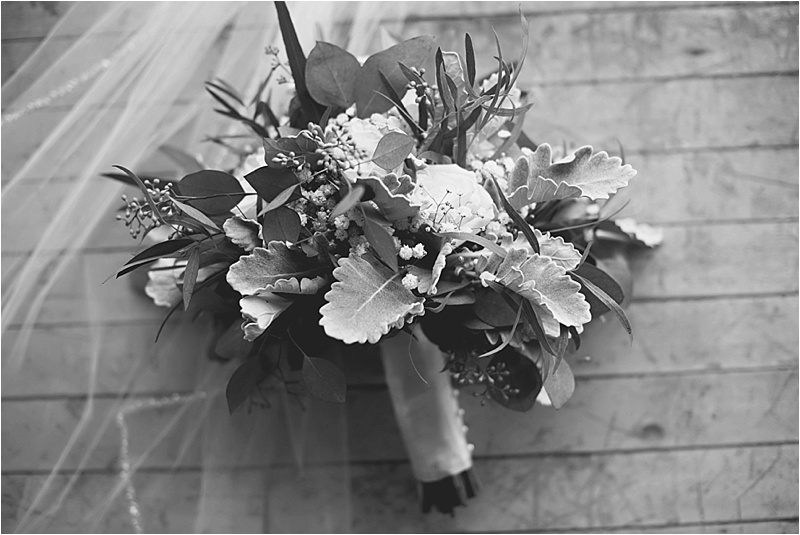 vintage chic winter bouquet