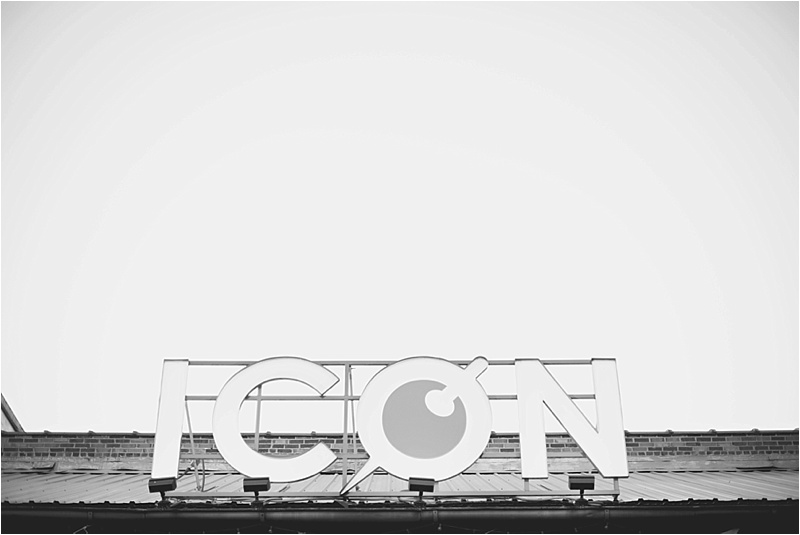 icon bar wedding reception downtown