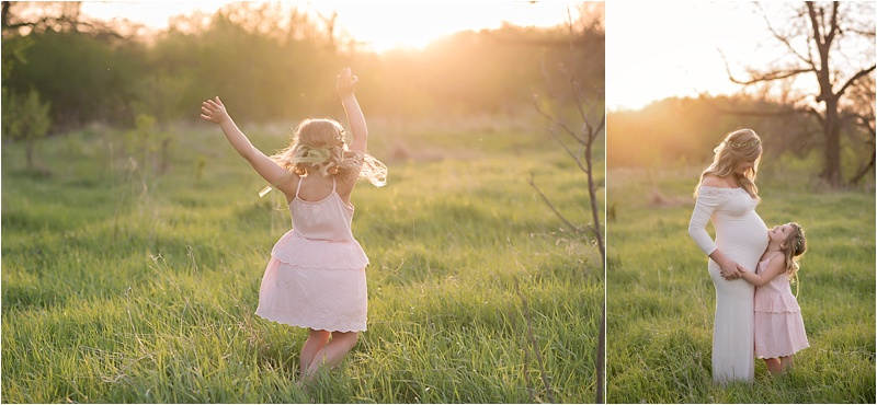 Mommy and Me Maternity Session | Brandon, SD | Kate Jones Studios