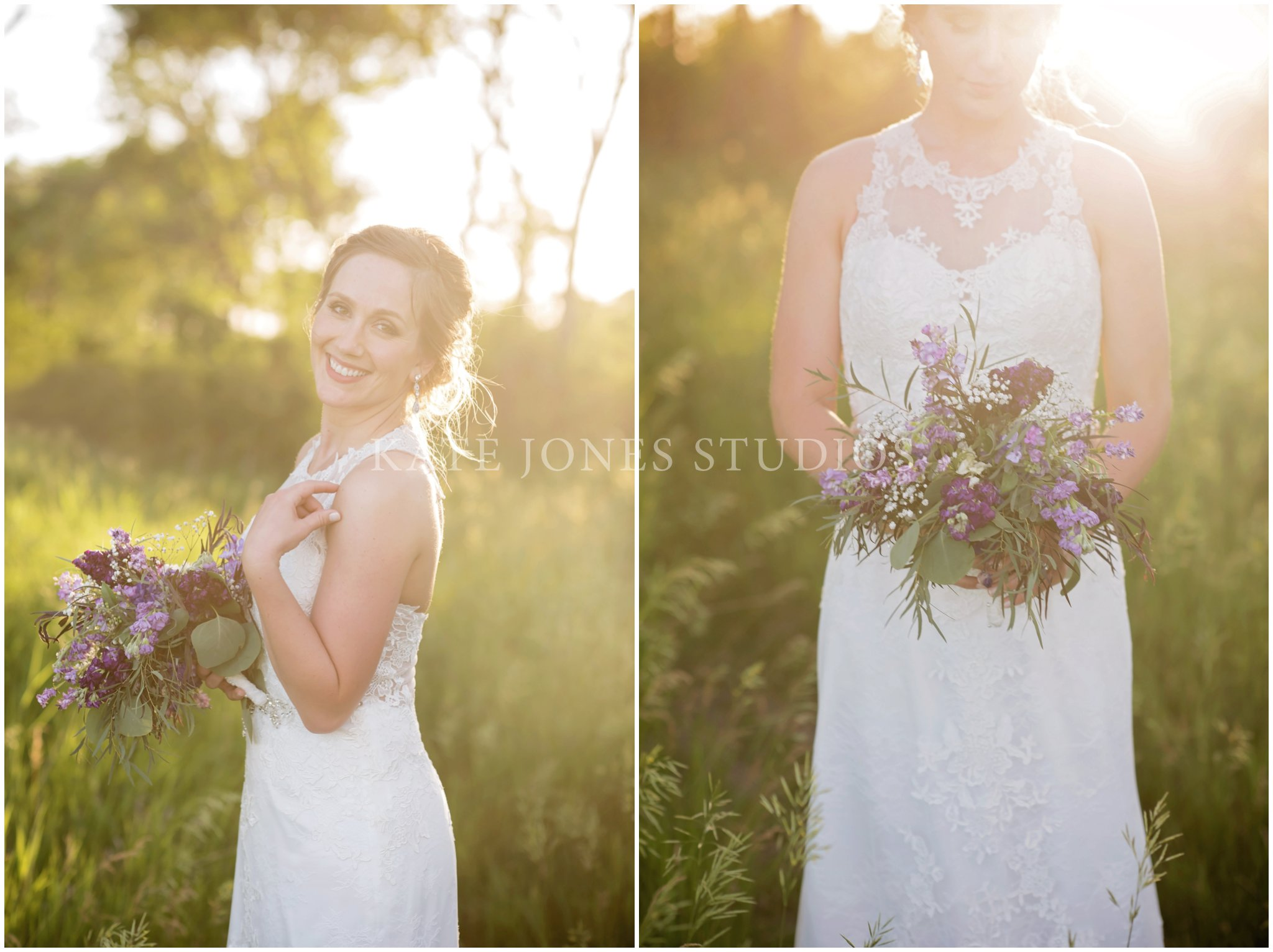 lavender and violet wedding