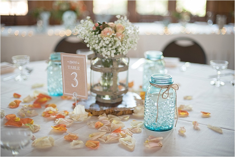 sylvan lake natural light tablescape