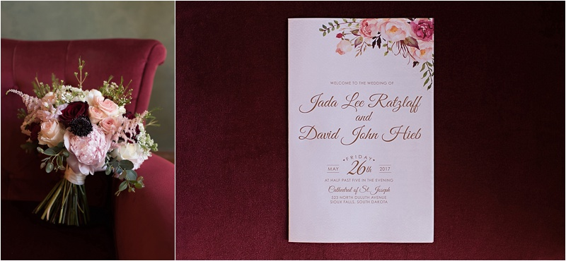 formal wedding invitation floral