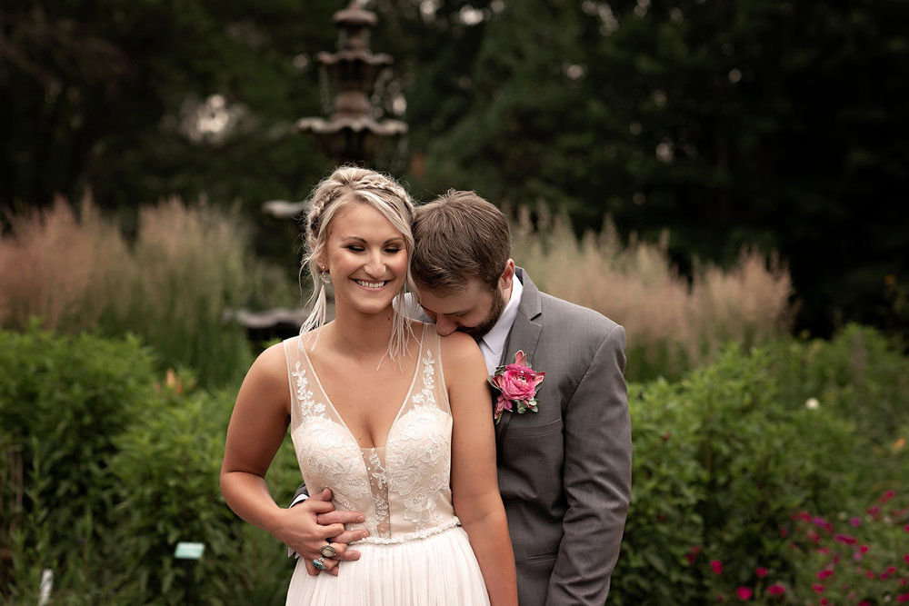 mccrory gardens brookings south dakota wedding boho vintage portrait