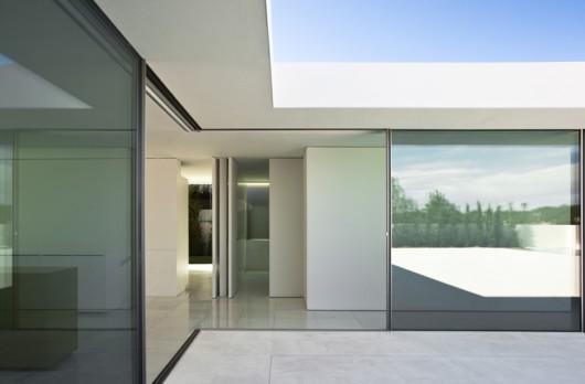 PURE corner unit, sliding door system