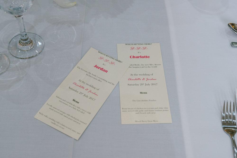 wedding breakfast table decorations