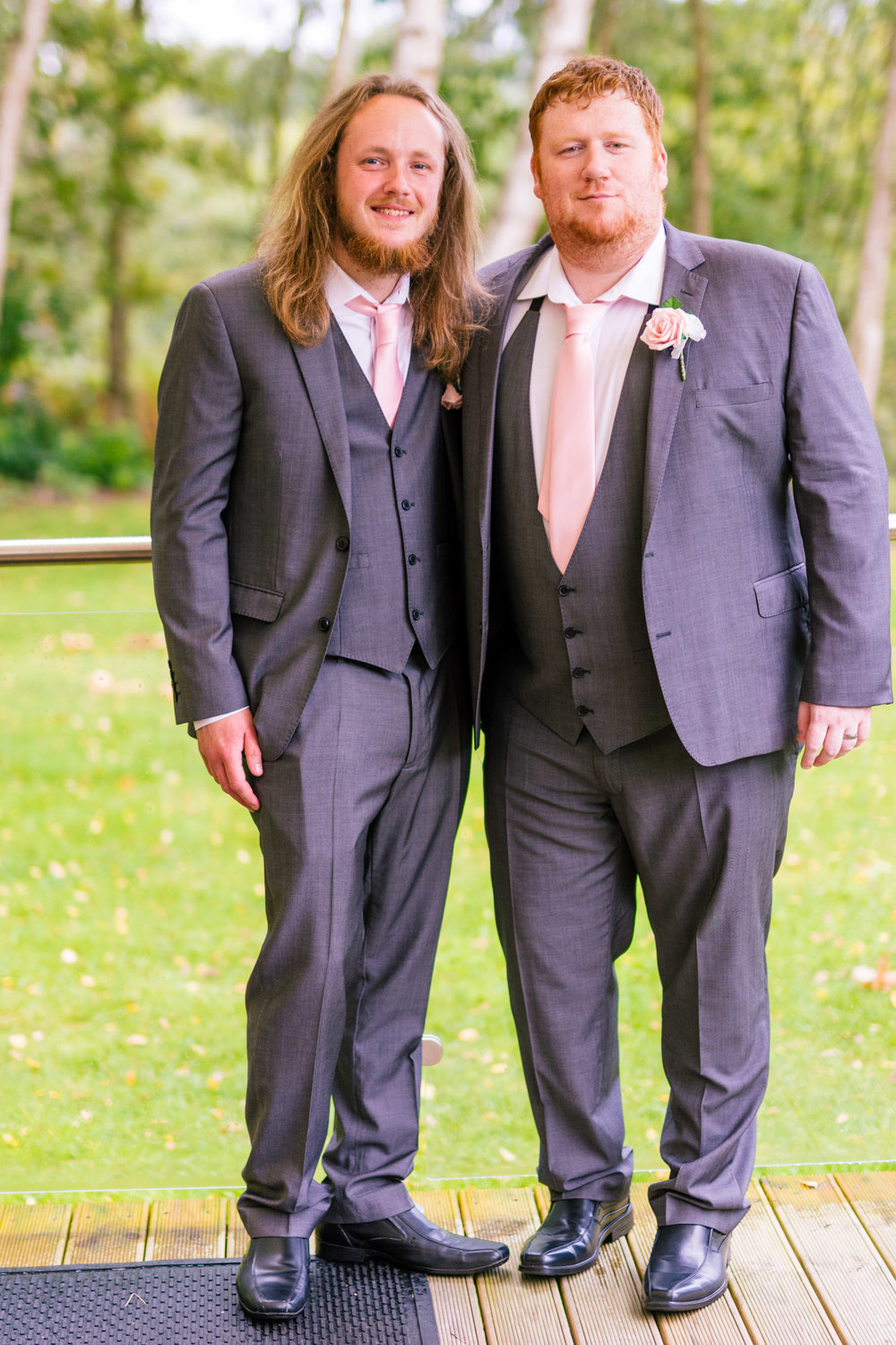 groom and best man together