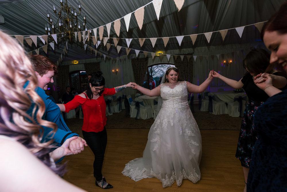 Bride on the dance floor