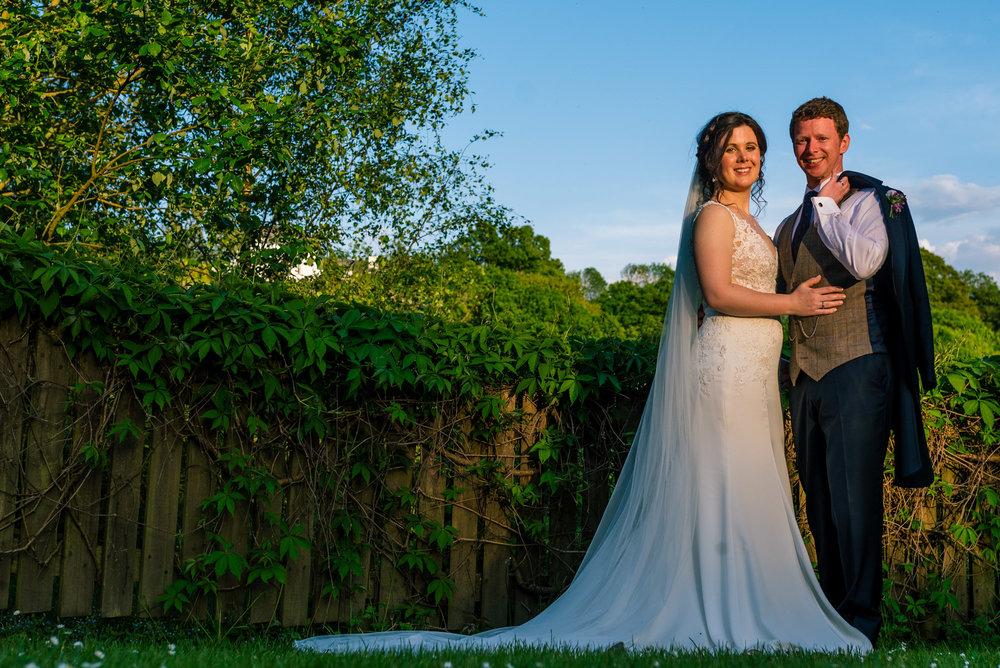 Couple portrait in beautiful light