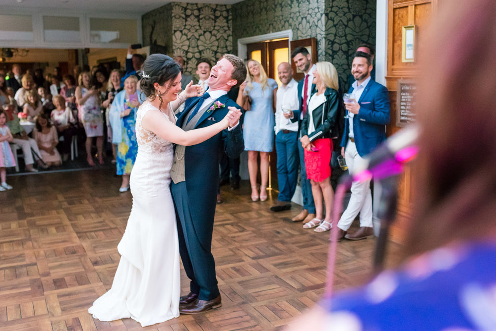 First dance giggles