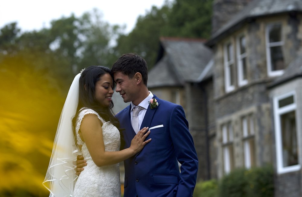 Shropshire wedding photography in the Lake District