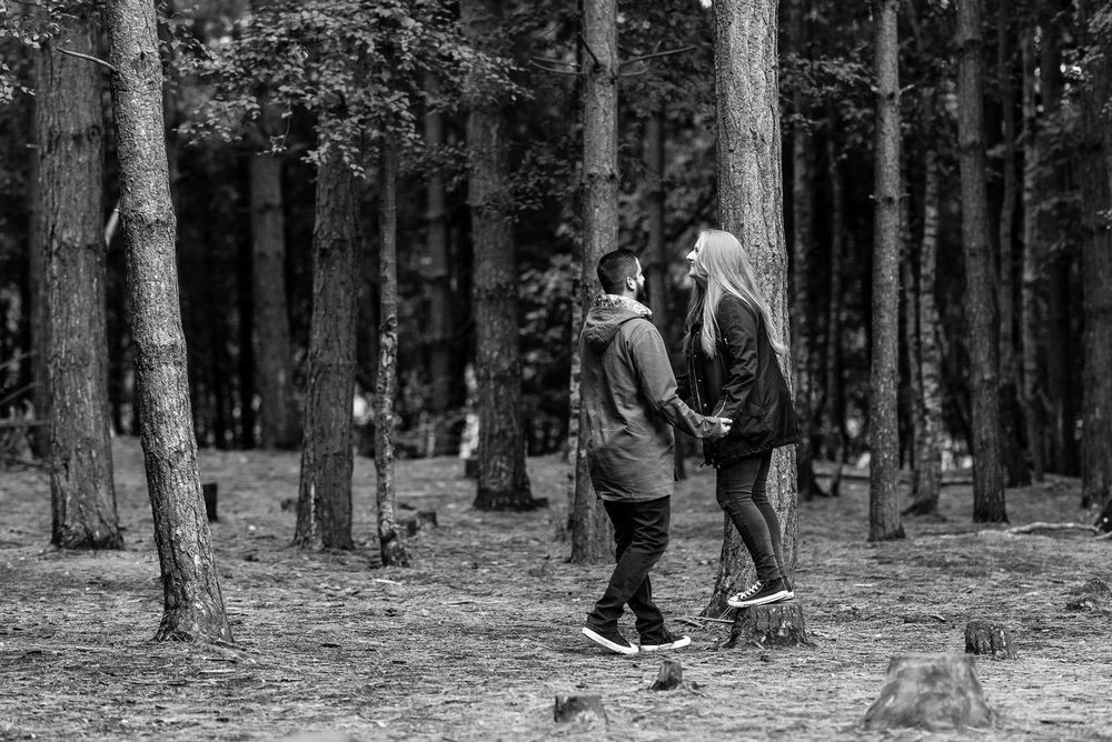 Pre-shoot in Delamere Forest