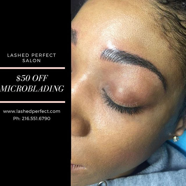 Book your Microblading appointment @lashedperfect Salon. Save $50 off the first session! Text or email for available time slots! . . . Prior to making an appointment, must visit www.lashedperfect.com and click on Microblading. Scroll down to candidate requirements to see if you're a good candidate. If nothing applies to you text or email for scheduling.