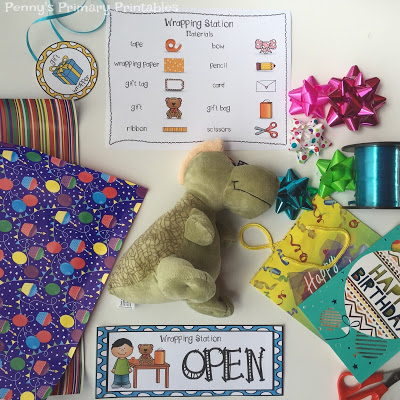 How to set up a Birthday Party themed dramatic play center