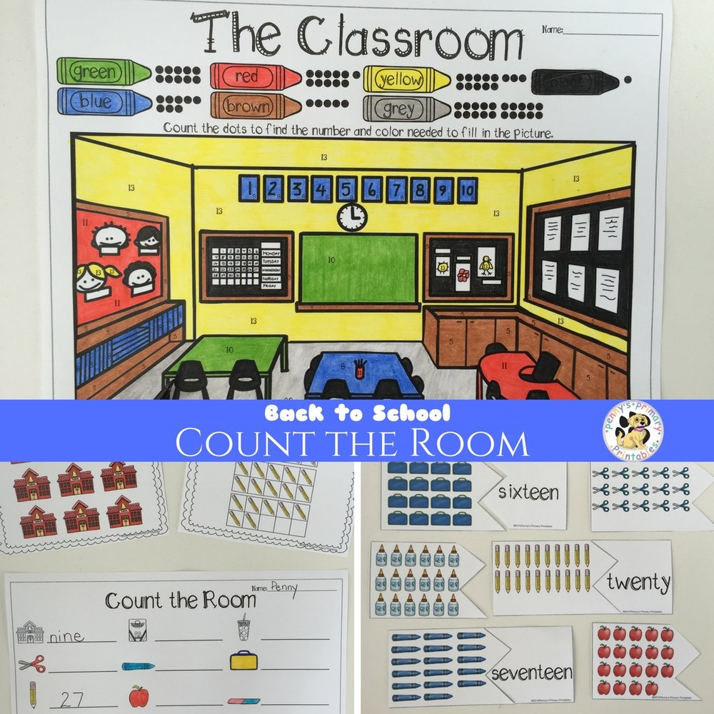 Back to School Count the Room