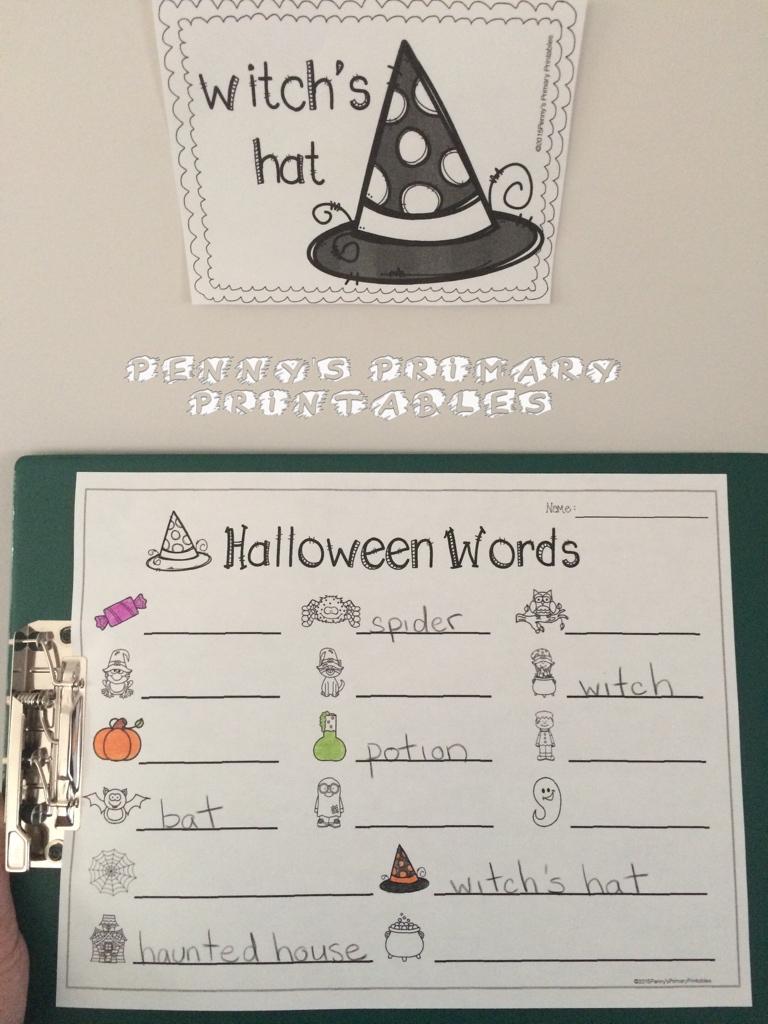 Kindergarten Halloween Centers