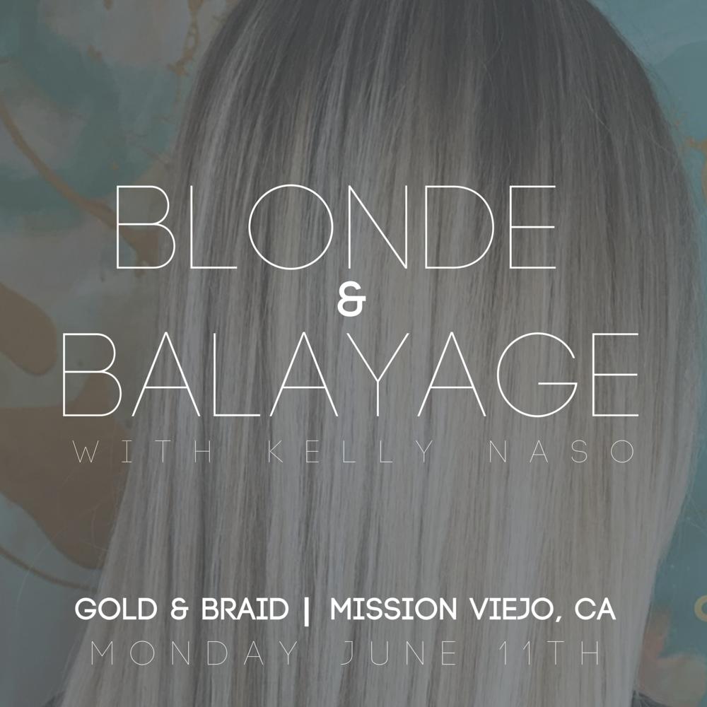 Blonde & Balayage Class
