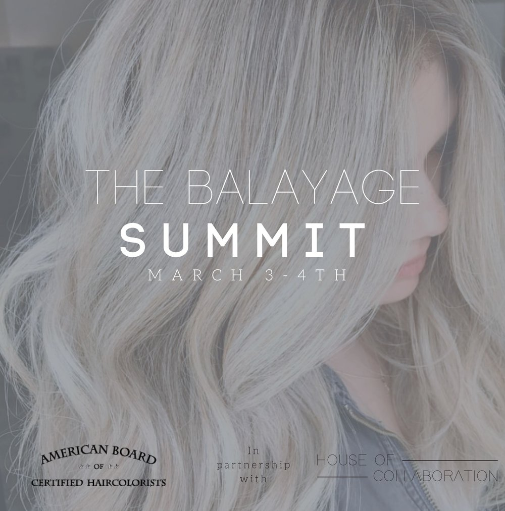 The Balayage Summit