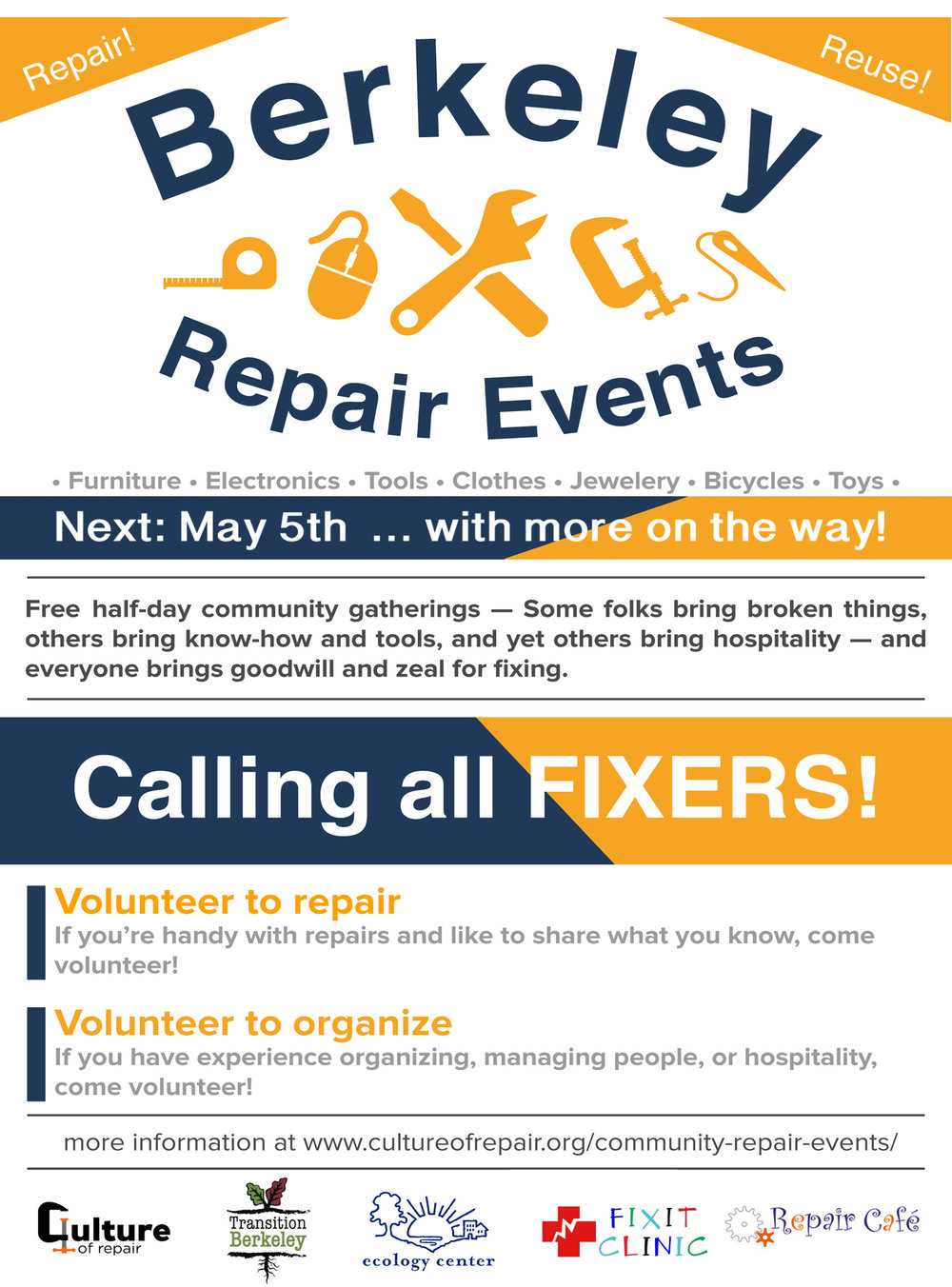 Calling All Fixers!