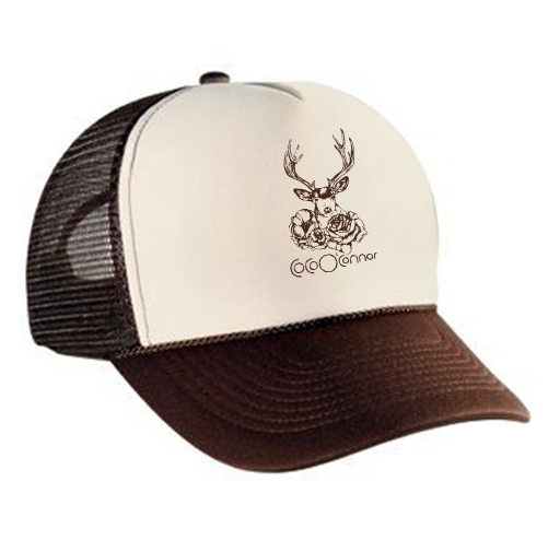 ed9a47595481b Deer Trucker Hat — Coco O Connor Music