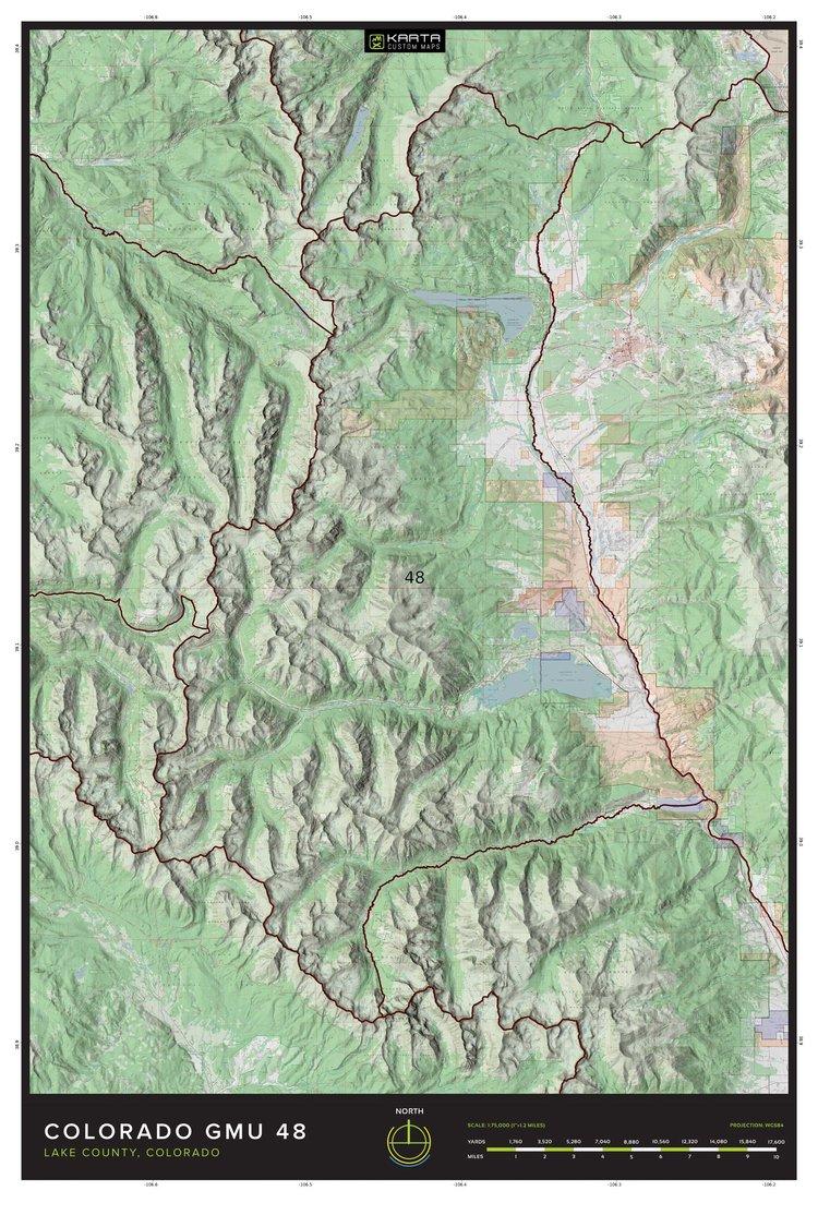 Diy Hunting Maps Custom Orders — KARTA | DIY Custom Outdoor + Hunting Maps
