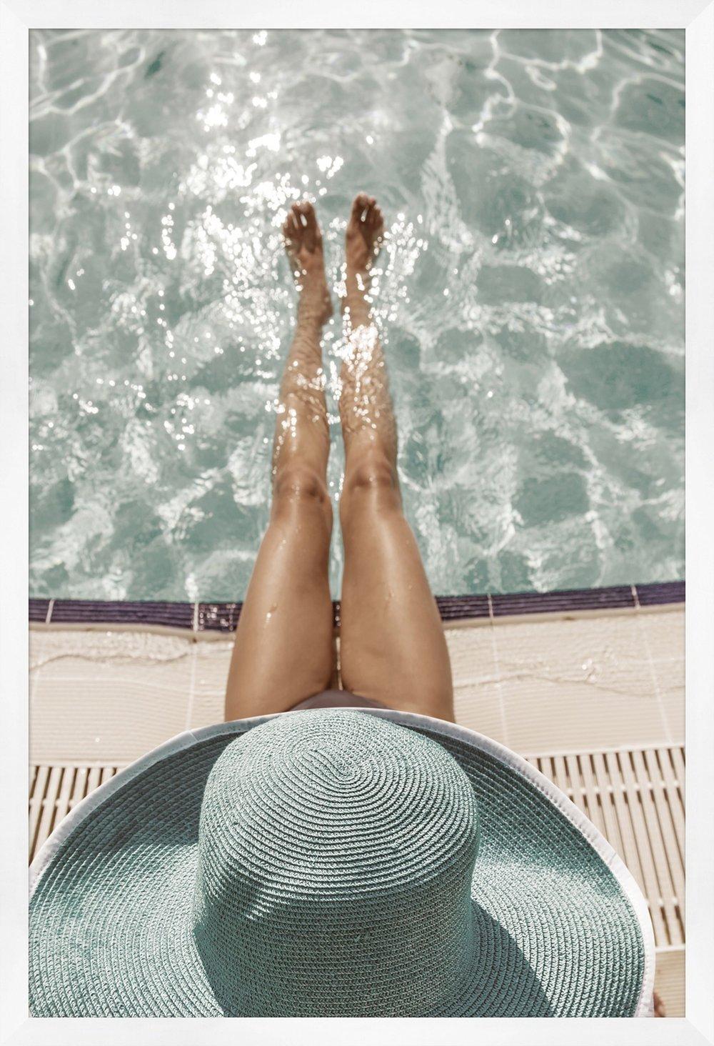 Brigitte by the Pool