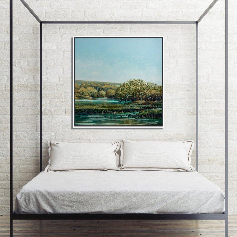 SOLD  - 'Shalfleet' -100 x 100 cm