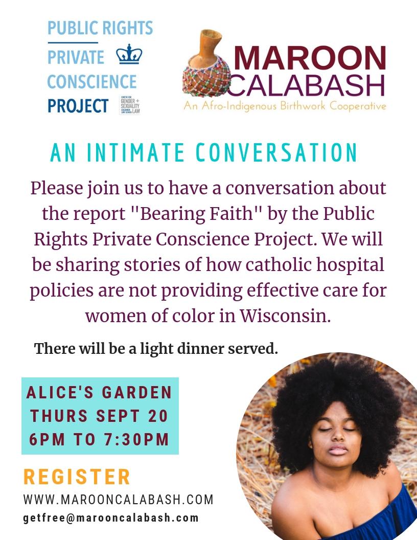 Bearing Faith Event