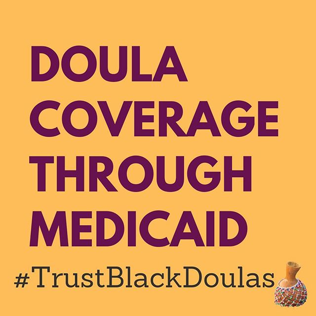 Over here, we #trustblackdoulas and we're asking our legislators to do the same.  1. Include Black Doulas and Birthworkers in any conversation about our work  2. Make it simple for us to be compensated for our work  3. Compensate us at our FULL RATE - allowing us to continue providing services and support our families  4. Value our community's trainings as legitimate  Join the collective voice of Black Doulas in Wisconsin as we challenge our state to do better for black families + black birth-workers.  #TrustBlackDoulas #TrustBlackBirthworkers #BlackMaternalHealth #Doulasaredope #TraditionalSupport