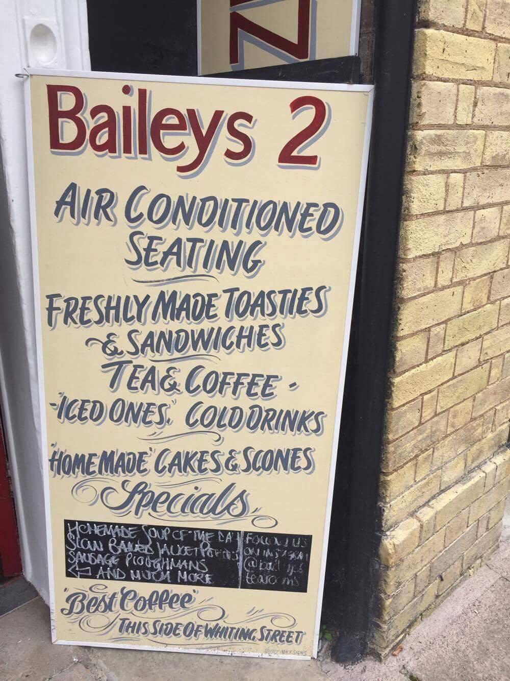 Lunch in Baileys 2